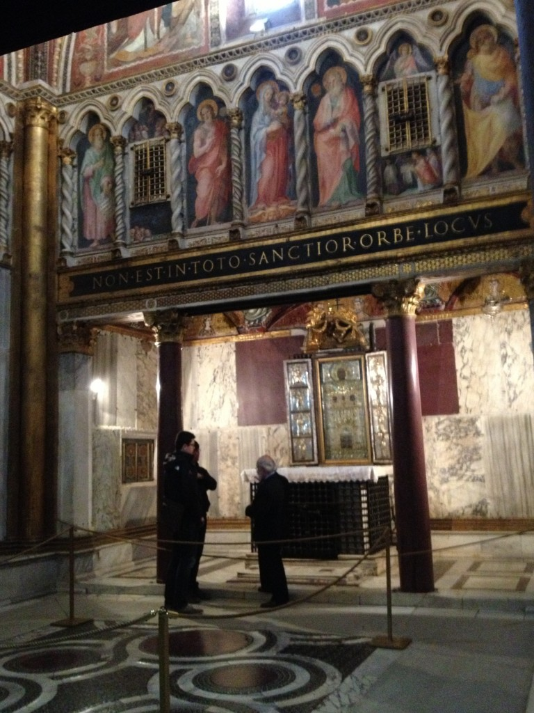 Things to do in Rome, Italy - Scala Santa - Sancta Sanctorum