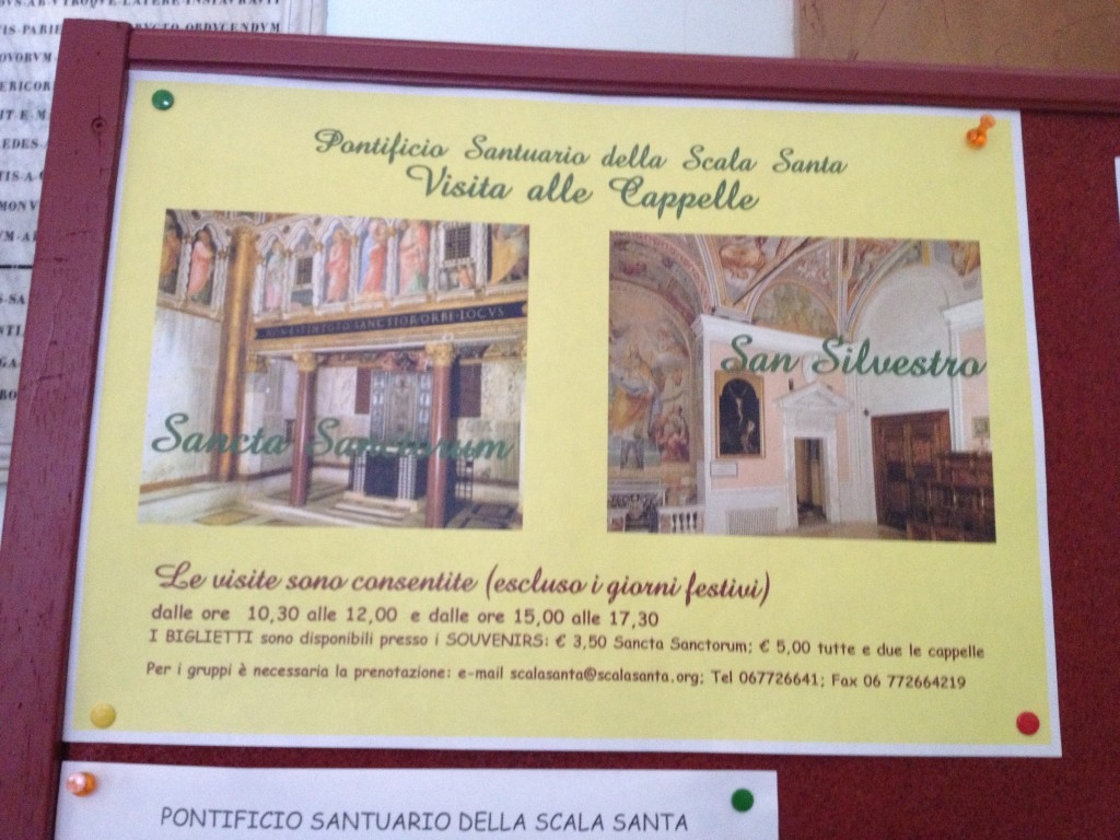 Things to do in Rome, Italy - Scala Santa and Chapel