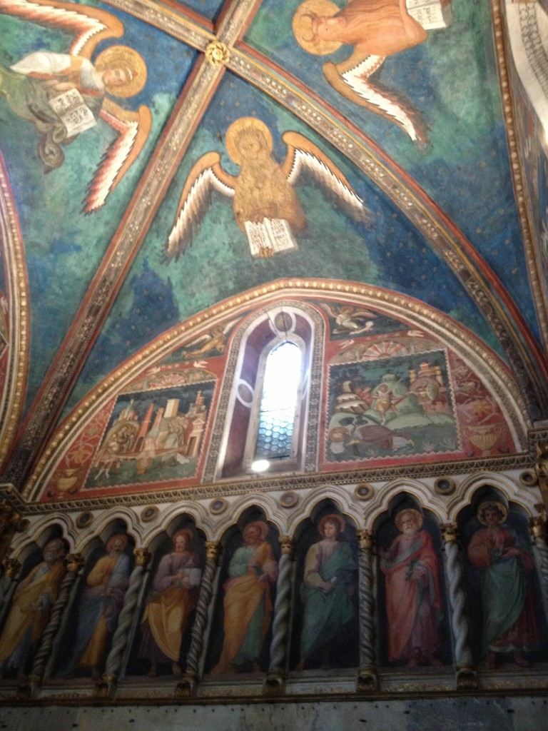 Things to do in Rome, Italy - Scala Santa - Frescoes