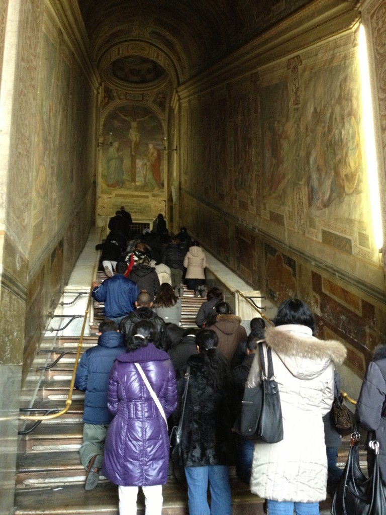 Things to do in Rome - Scala Santa