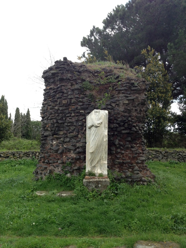 Appian Way - One of many tombs