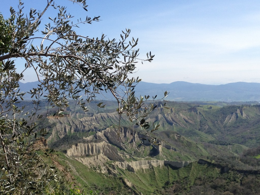 Civita di Bagnoregio - View from the town