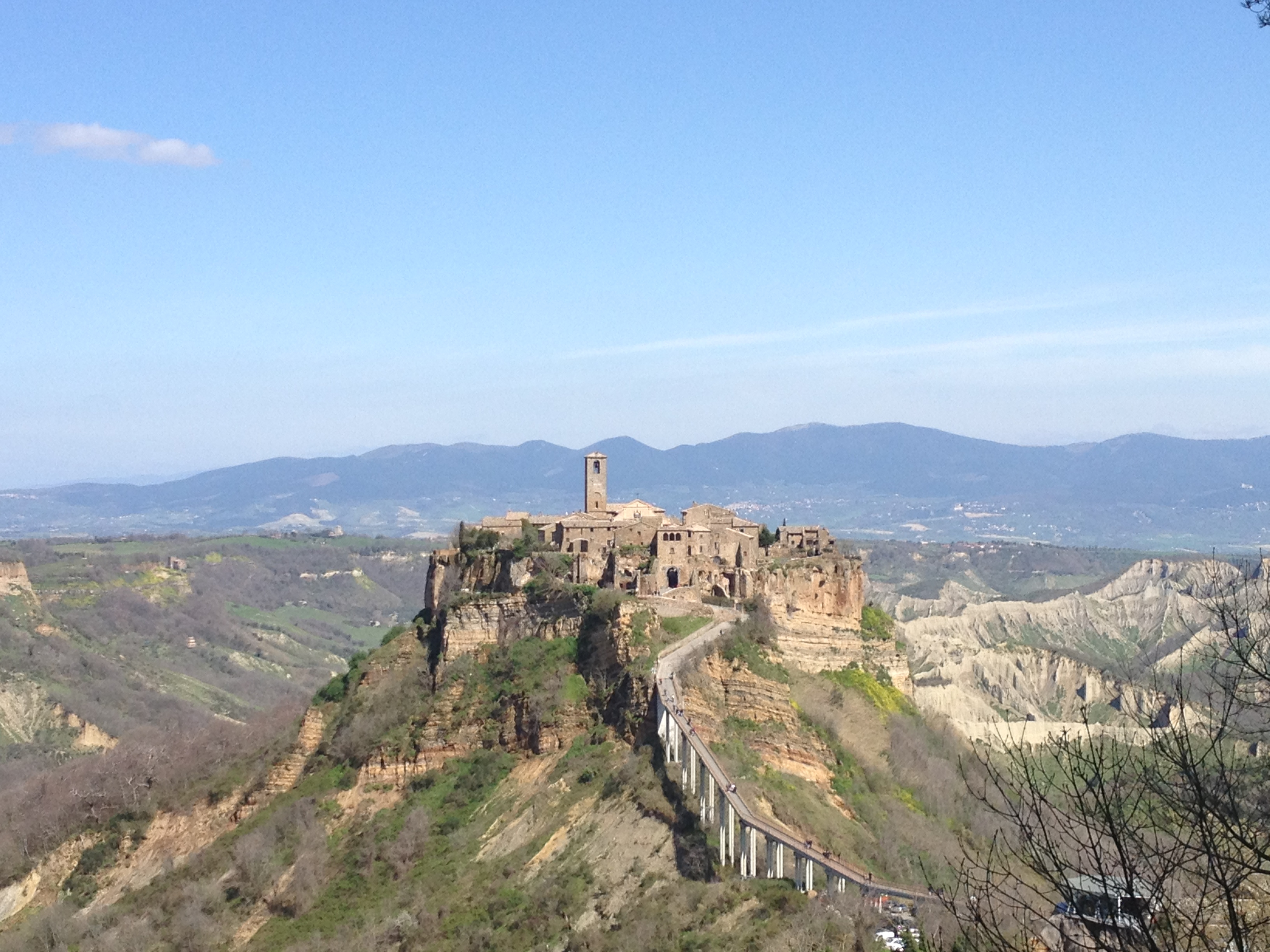 Day trip to the stunning town of Civita di Bagnoregio