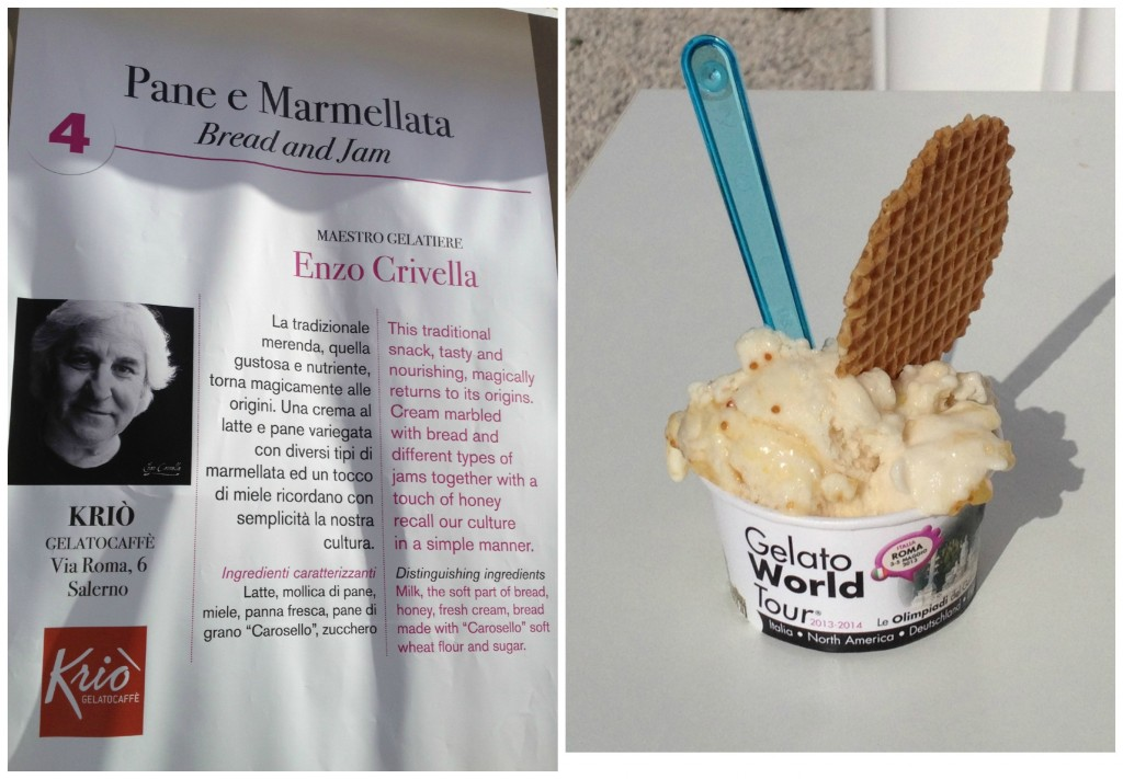 Gelato World Tour - Rome, Italy: Bread and Jam Gelato