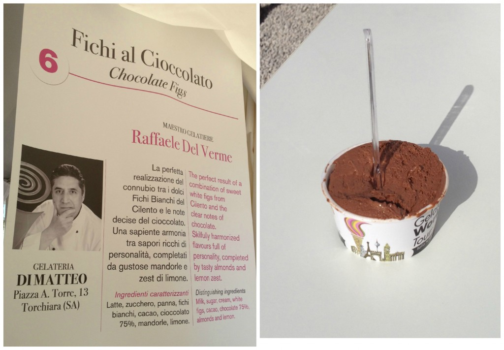 Gelato World Tour - Rome, Italy - Chocolate Figs