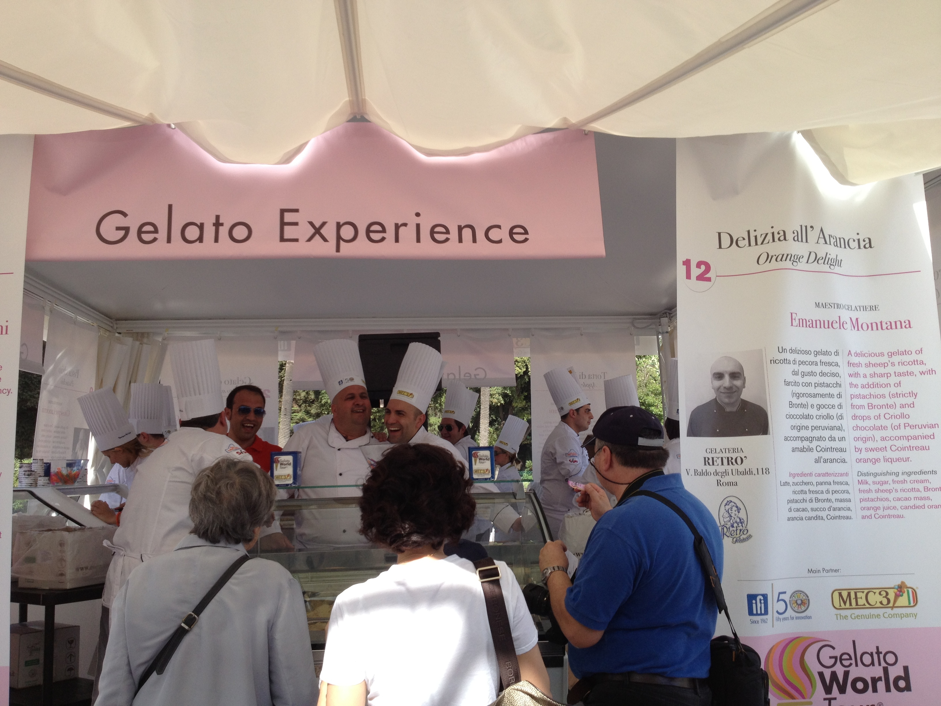 Don't Miss This Event! Gelato World Tour in Rome