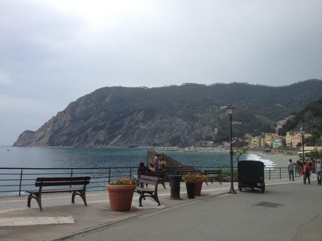 Lungomare at Monterosso al Mare, Cinque Terre, Italy