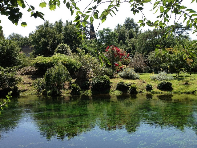 Day trip from Rome: Garden of Ninfa - Organized Chaos