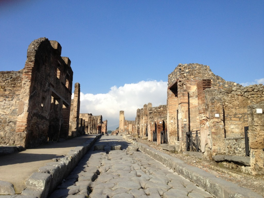 Day trips from Rome - Pompeii