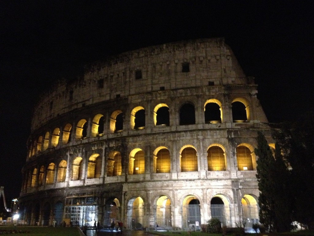 Things to do in Rome - Colosseum at Night