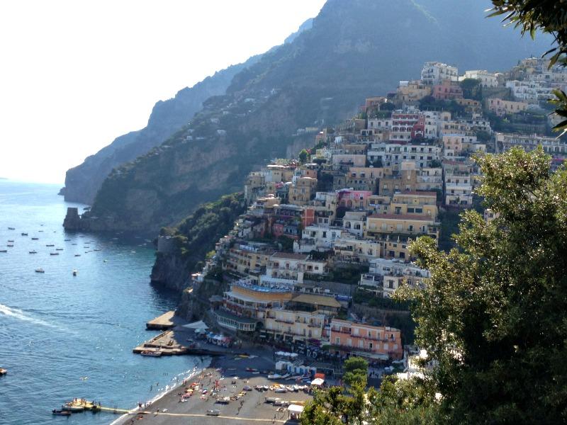 Culinary vacation in Italy: Positano, Amalfi Coast