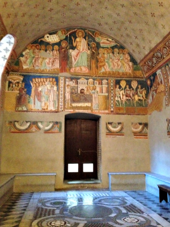 Things to see in Rome, off the beaten path: Chapel of St. Sylvester