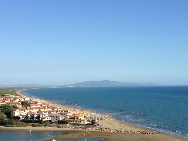 View from Castiglione della Pescaia
