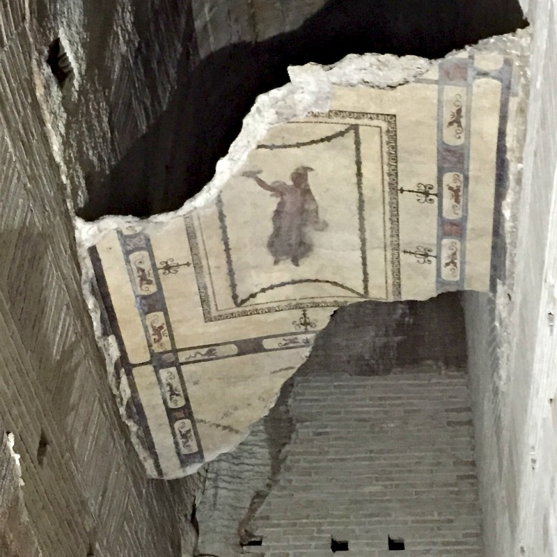 Frescoes in Domus Aurea | BrowsingRome
