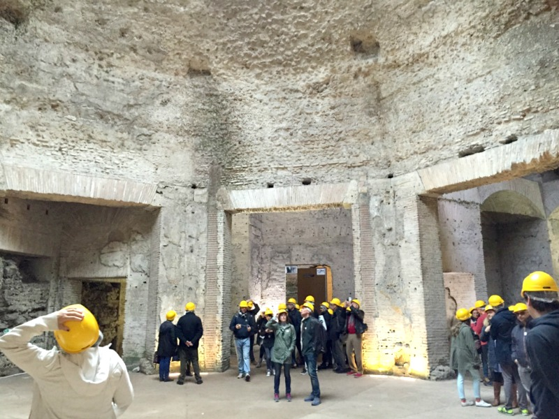 Octogonal Room in the Domus Aurea | BrowsingRome