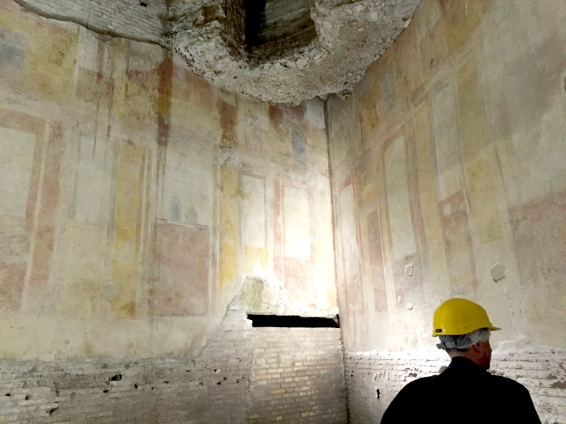 Frescoes in the Domus Aurea, Rome | BrowsingRome