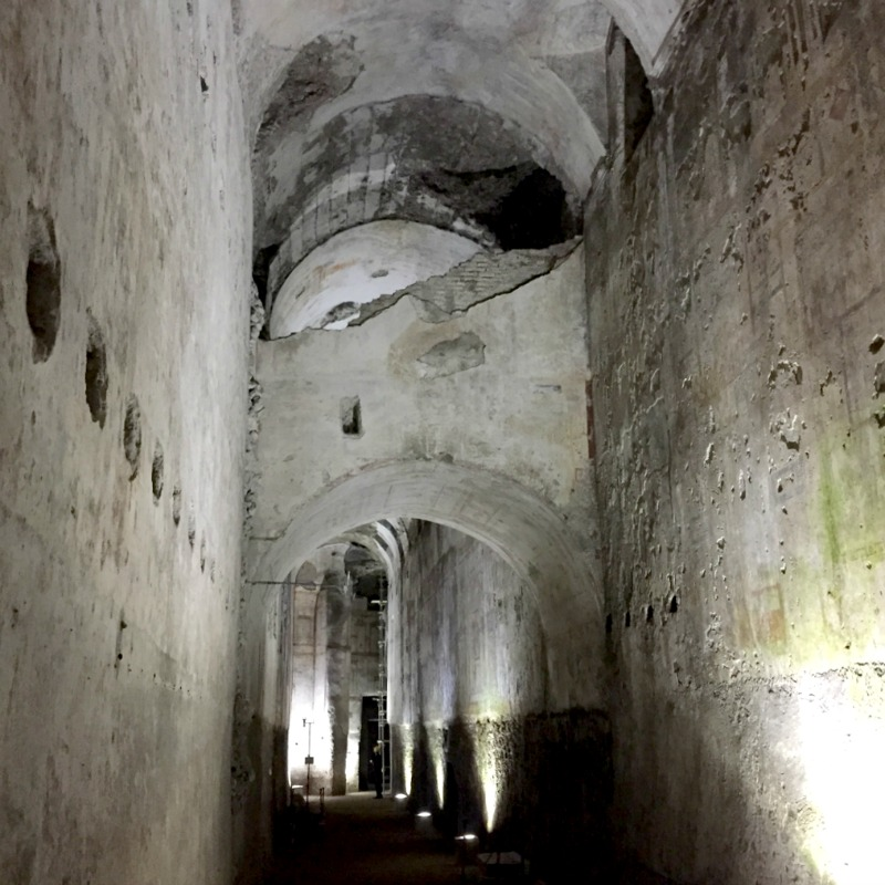 Cryptoporticus in the Domus Aurea, Rome | BrowsingRome
