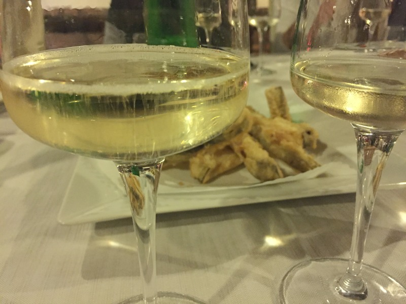 Guided Wine Pairing Dinner in Rome: Sparkling wine and Prosecco | BrowsingRome.com