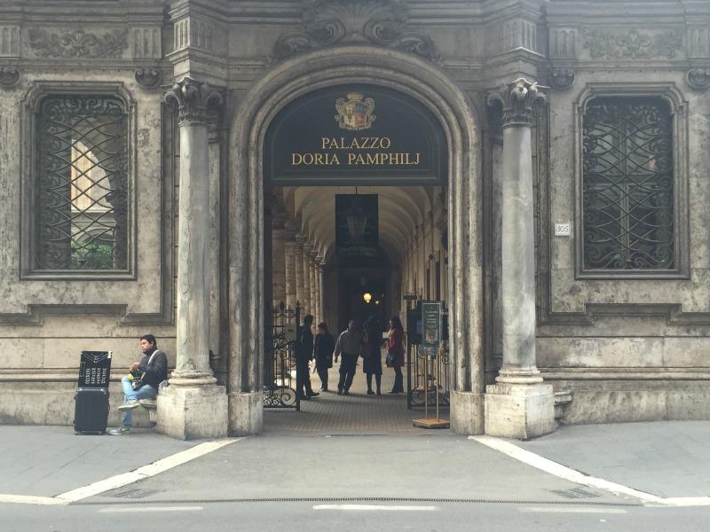 Palazzo Doria Pamphilj in Rome | BrowsingRome.com
