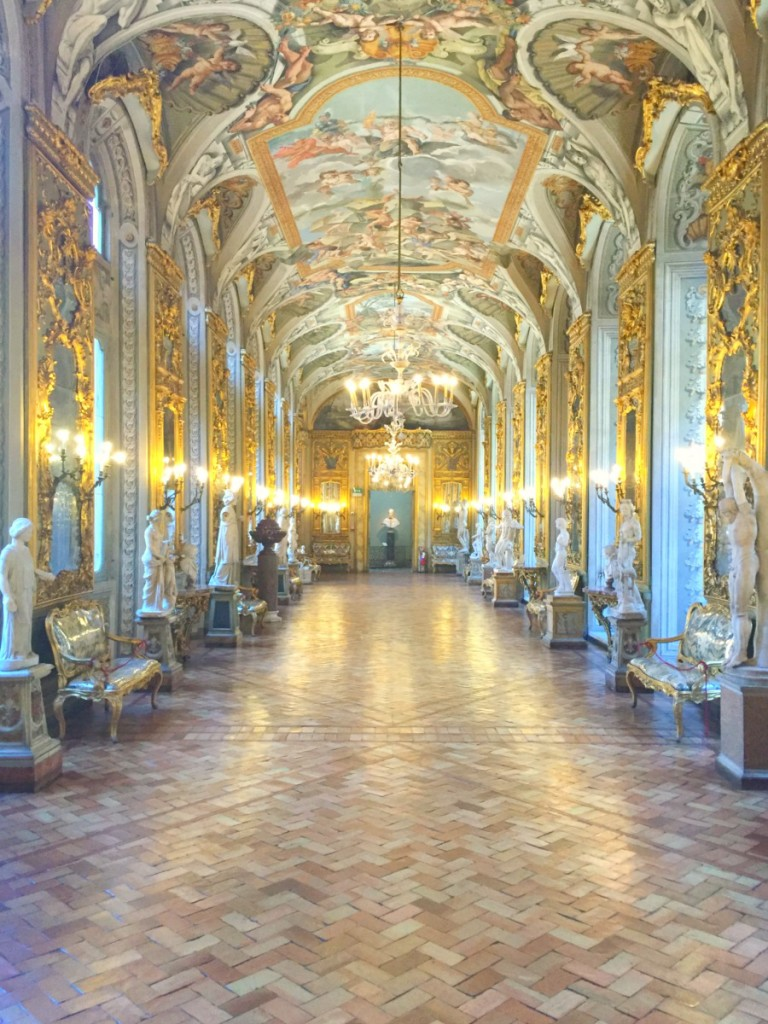 Gallery of Mirrors in Palazzo Doria Pamphilj in Rome, Italy | BrowsingRome.com