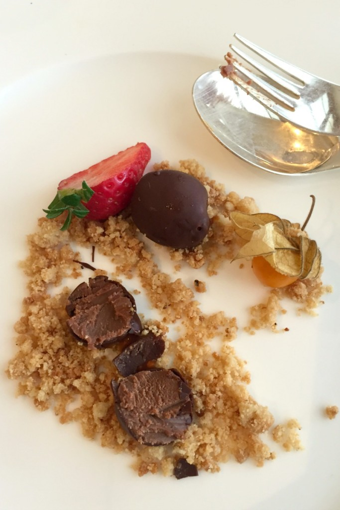 Truffle trilogy at L'Uliveto restaurant in Rome Cavalieri | BrowsingRome.com