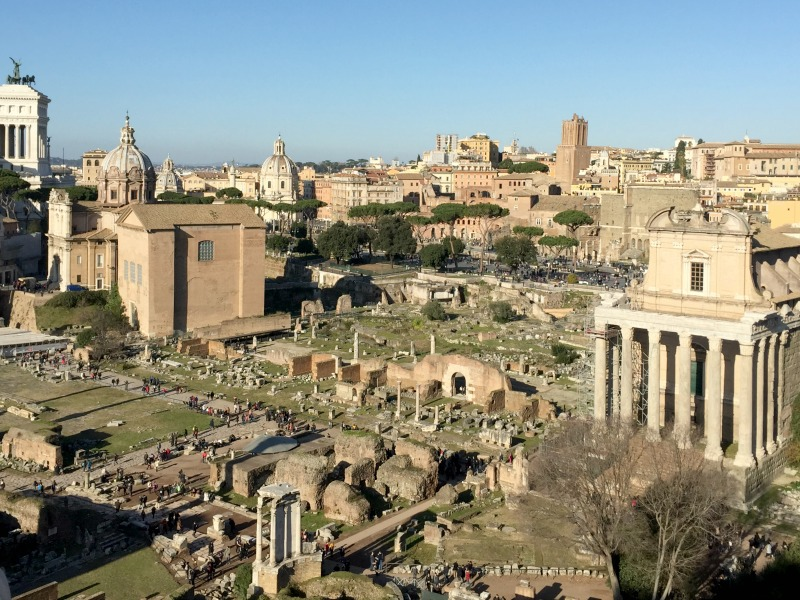 View from the Palatine Hill | BrowsingRome.com