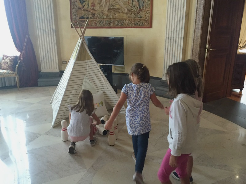 Westin Excelsior Rome: Mission Delicious | Playtime in Villa La Cupola