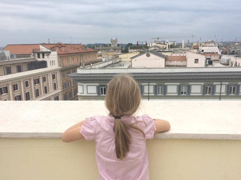 Westin Excelsior Rome: Mission Delicious | Terrace of Villa La Cupola