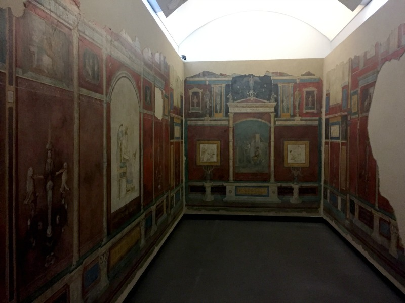 Frescoes from near Villa Farnesina now in Palazzo Massimo alle Terme | Rome, Italy | BrowsingRome.com