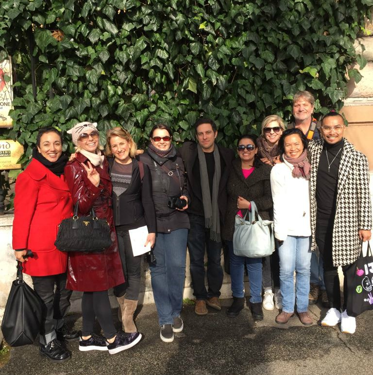 Winter in Rome 2018 Group